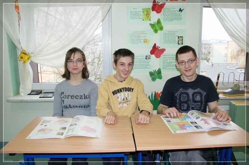 Na zdjęciu od lewej: Żaneta Cieśluk, Michał Nowosadowski, Dominik Czarnecki